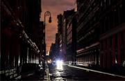 """风光摄影:""""黑城""""纽约"""