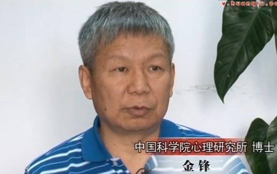 中国科学院心理研究所金锋博士接受环球网专访