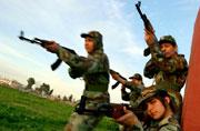 伊拉克预备役女警残酷训练实录