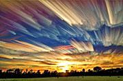 加拿大摄影师缩时拍摄梦幻天空