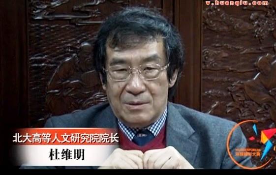 北京大学高等人文研究院院长杜维明接受环球网专访