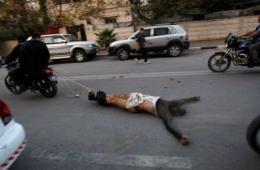 哈马斯处决6名疑似以色列间谍 拖尸游街