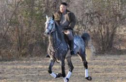 朝鲜公布金正恩骑马英姿 妹妹金汝静首次露面