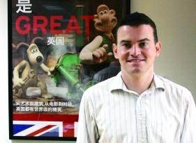 英国驻华使馆新闻主管John Gallagher