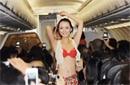 全球飞机上的极品事件 法航向乘客借钱买油