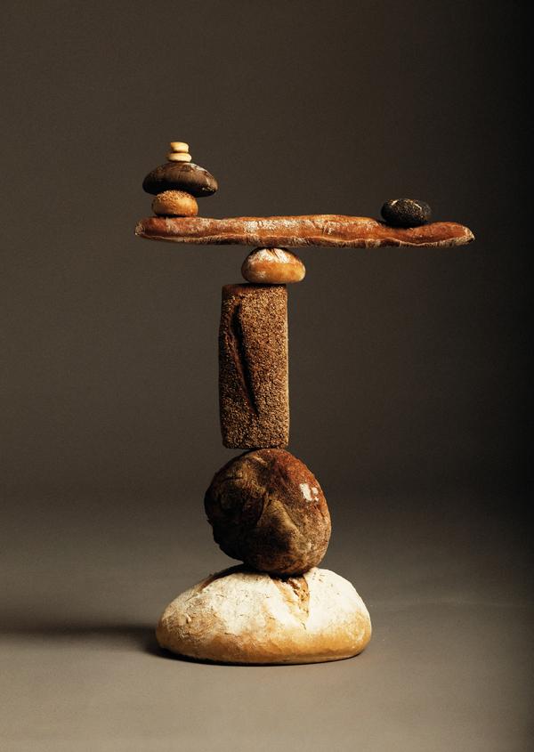 商业摄影:面包塔