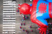 节日摄影:俯拍纽约感恩节