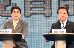 野田与安倍网络党首PK共吸引140万点击