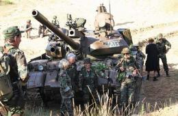 T-55坦克拉脱维亚发挥余热