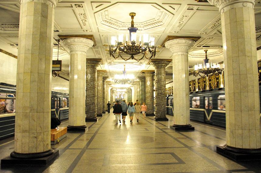 分外迷人!令人惊叹的欧洲地铁站(组图)图片