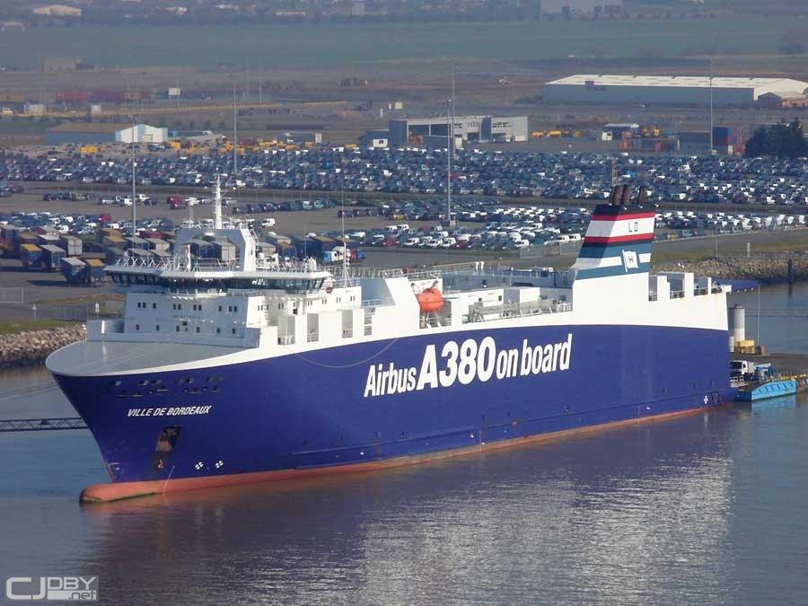 军事轮船_唯一能装下A380大型部件轮船