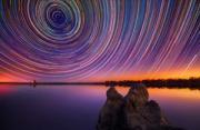 风光摄影:星迹