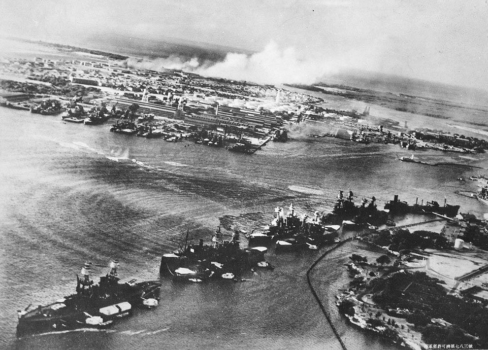 二战 日本偷袭珍珠港