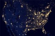 风光摄影:夜之地球