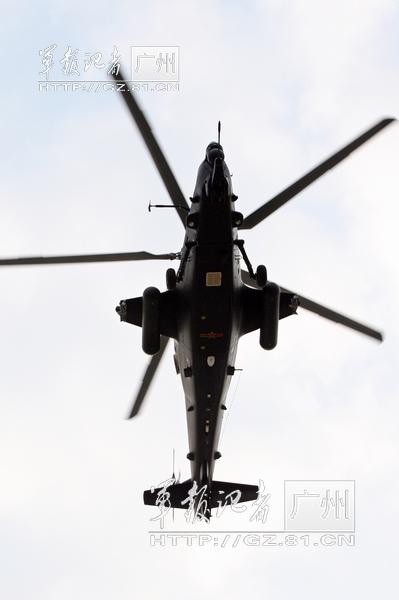 我军直-10型武装直升机挂载能力 整建制装备部队【组图】 - 春华秋实 - 开心快乐每一天--春华秋实