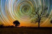 风光摄影:15个小时的星迹