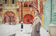 人像摄影:莫斯科甜美瞬间