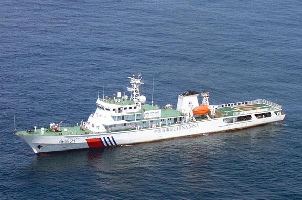 海巡21服役南海令菲警觉 菲外长:为何要巡航
