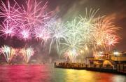 风光摄影:澳大利亚的新年烟火