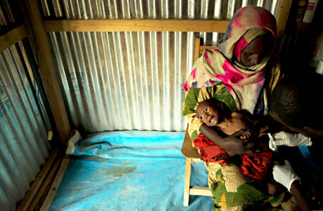 乍得儿童在传统中艰难维生