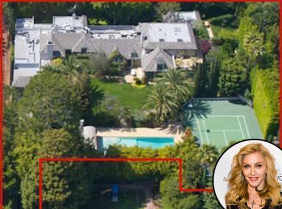 麦当娜售加州贝佛利山图片开价2250万美元别墅别墅涵园大全图片