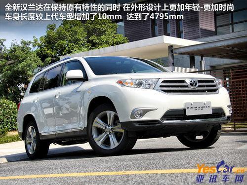 【广汽丰田汉兰达】-大空间就是爽 5款7座大空间SUV车型导购高清图片