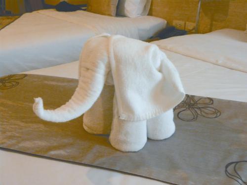 大象之邦泰国 迎宾象带来吉祥