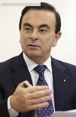 雷诺CEO 卡洛斯 戈恩