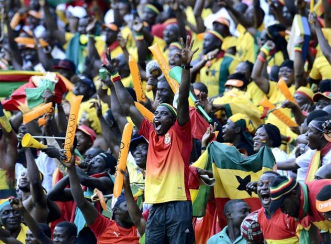 非洲杯不视频色彩还有斑斓的只有11足球中心图片