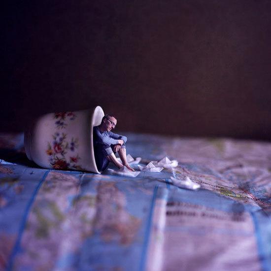 世界 巨人/超现实微型概念摄影:小人国的世界(6/10)