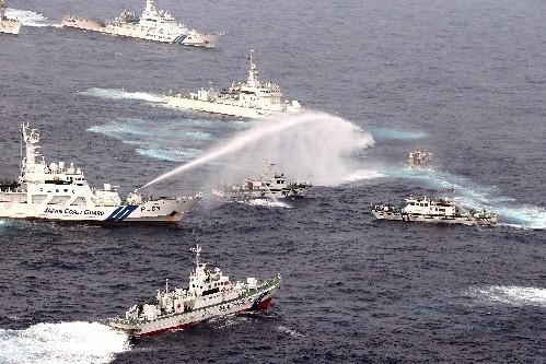 日本有本事冲大陆来 欺负弱小台湾不算是强大
