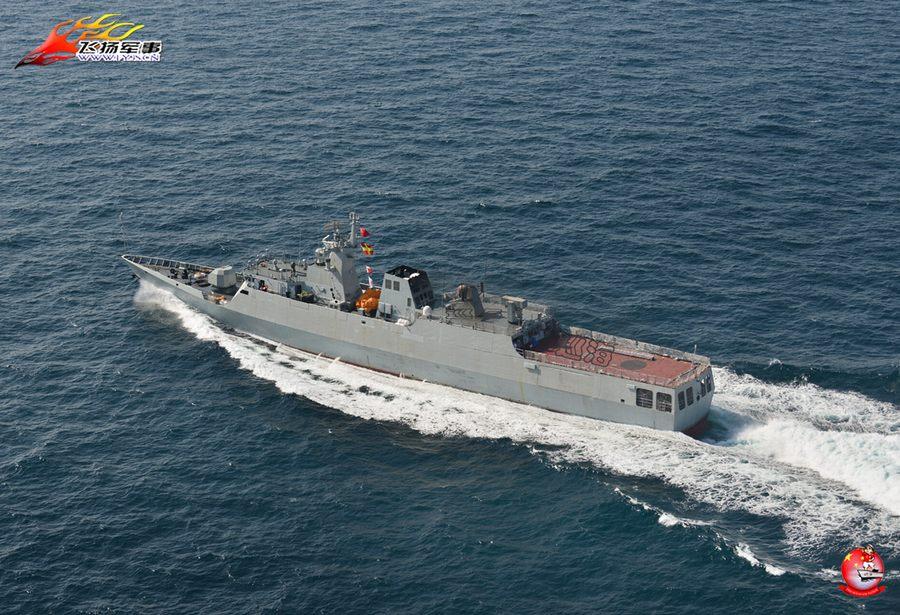第一艘056轻型护卫舰刷涂新式舷号  近期将服役【组图】 - 春华秋实 - 开心快乐每一天--春华秋实
