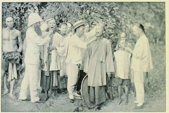清朝统治下的台湾旧影