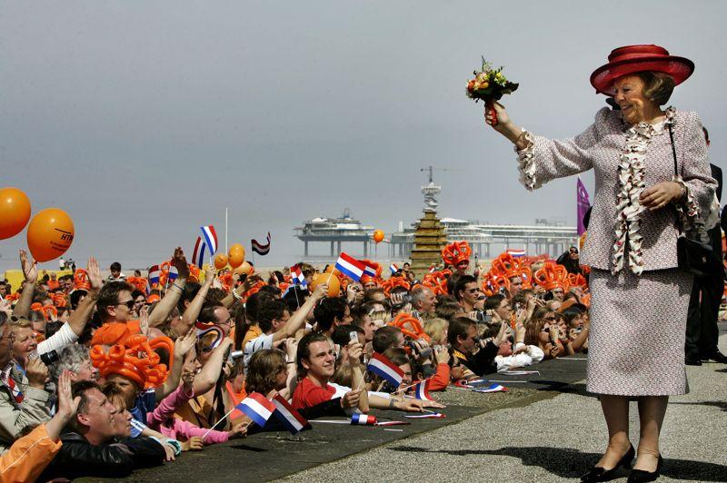 荷兰女王节图片