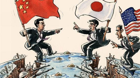 中国 避免 教训 借鉴 中美 一战 重蹈覆辙 美国/原文配图:中日岛争背后有美国身影。...