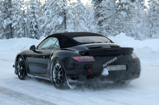 全新保时捷911 Turbo测试谍照曝光 - 勇敢的心 - 勇敢的心 成功能量场