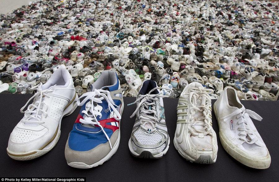 旧鞋子图片