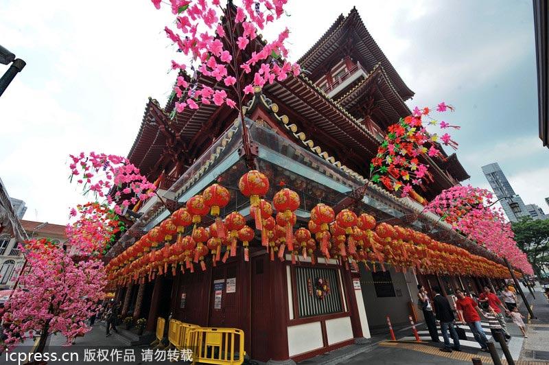 看世界各国如何过春节 感受异域别样年味