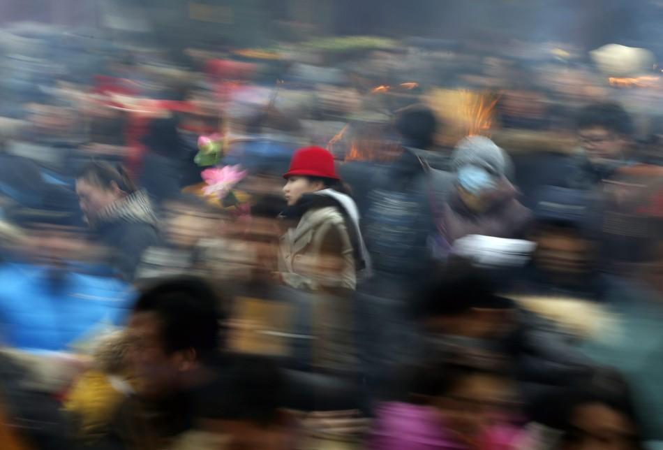 春节假期全国各大景区游客爆满 - 深瞳渊源 - 深瞳渊源,品味经典!!!