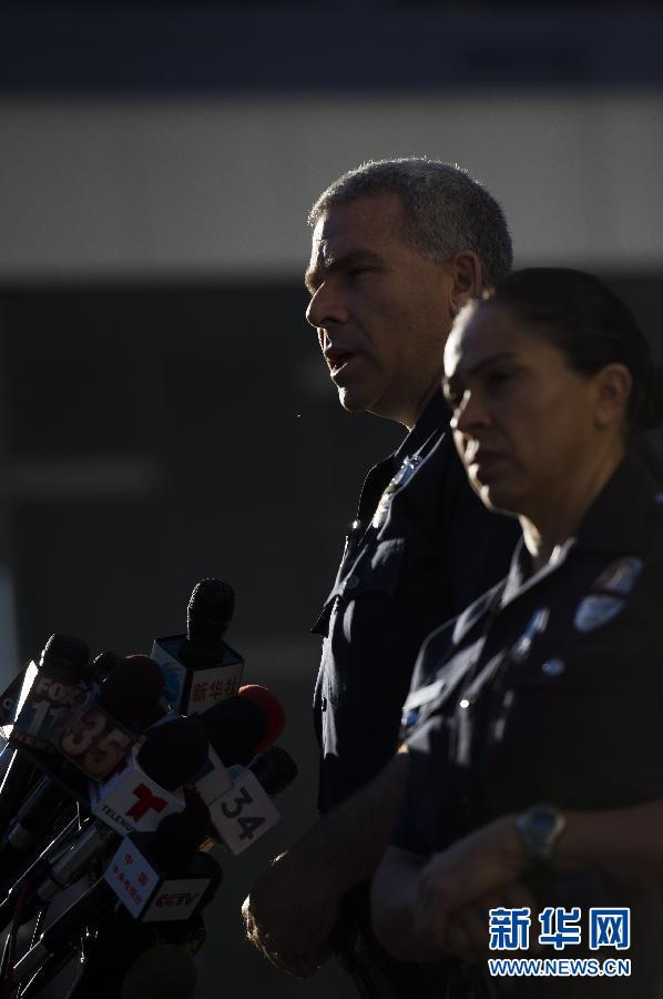 美国洛杉矶警察局_洛杉矶警方确认杀人警察藏匿的木屋中发现尸体_国际新闻_环球网