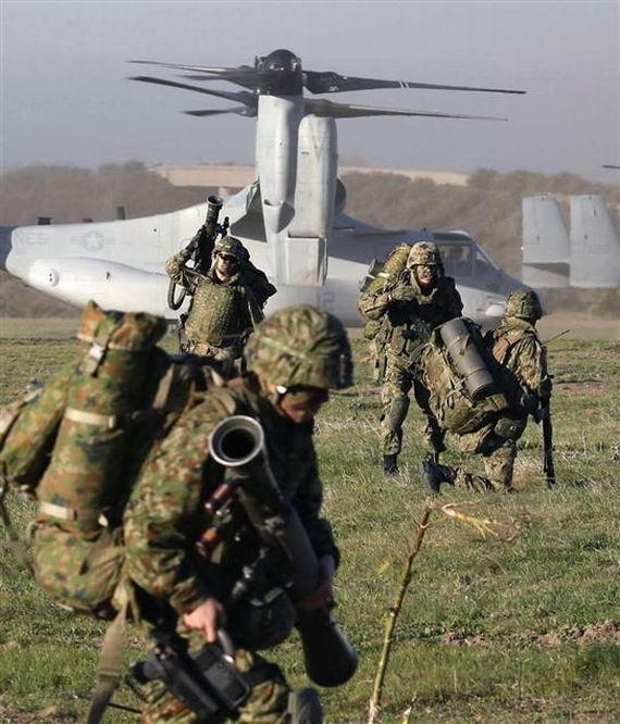中国军力远超日本预料:日自队员祈祷中日勿开战