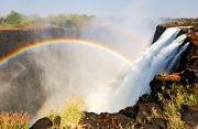 风光摄影:维多利亚瀑布的彩虹