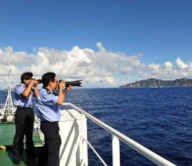 中国式巡航vs海警武装执法