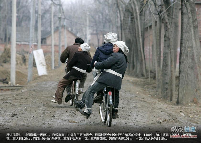 """中国""""癌症村""""地图"""
