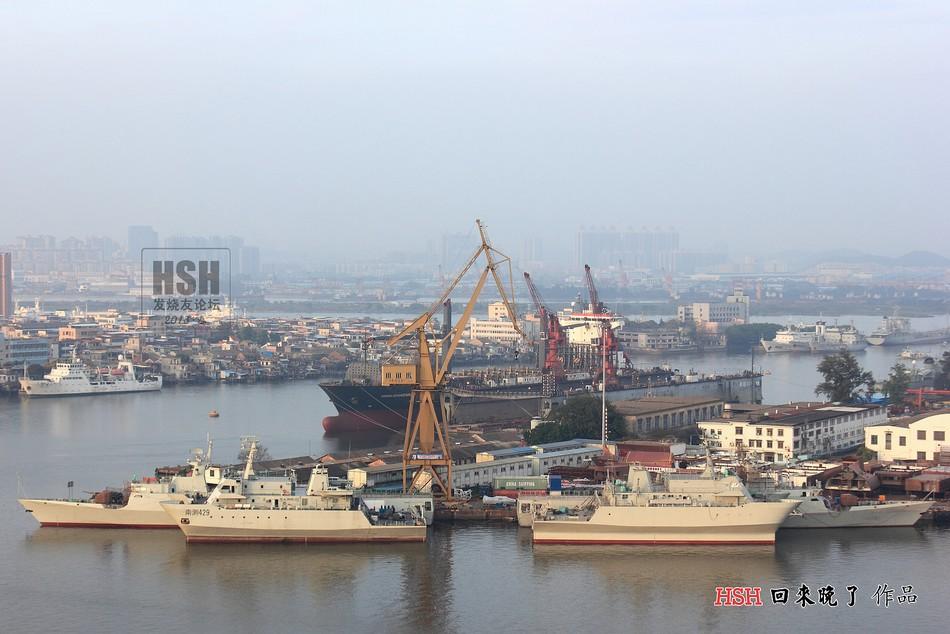 中国两款新型护卫舰 军舰批量建造【组图】 - 春华秋实 - 开心快乐每一天--春华秋实