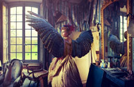 Natalie Dybisz:油画里的蝴蝶公主