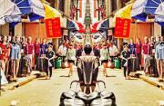 城市风光:中国对称街
