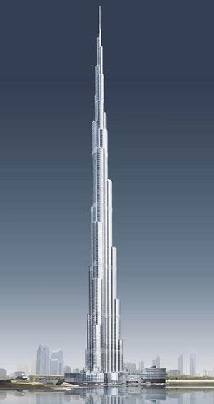疯狂的迪拜建筑:摩天 旋转 扭曲 跳动(组图)