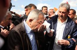 巴勒斯坦总理遭以色列士兵催泪弹袭击