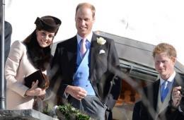 凯特王妃现身朋友婚礼